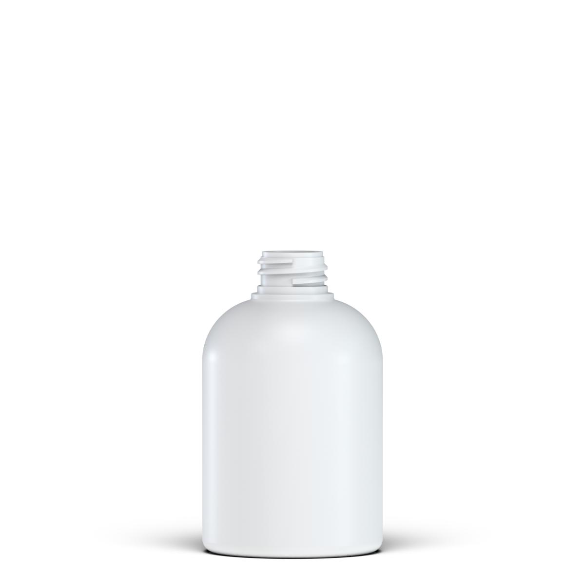 Flacone circolare spalla raggiata 300 ml HDPE, collo 28/410, linea TALLIN