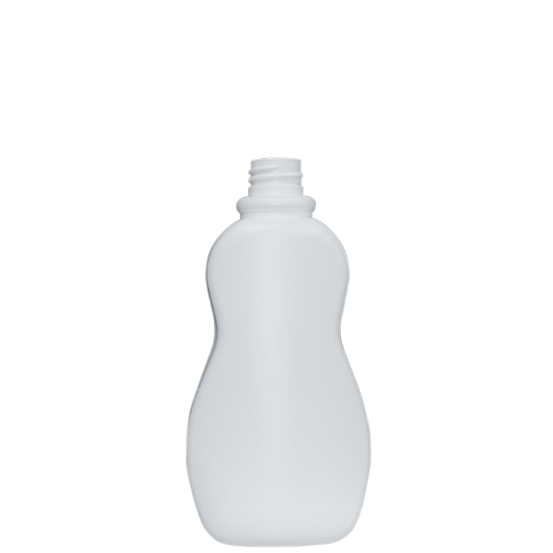 Moulded bottle 500 ml HDPE, neck 28/410, style TALLIN