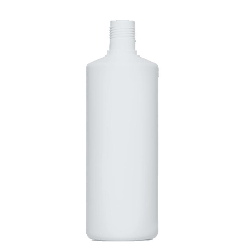 Flacone cilindrico 1 lt HDPE, collo 30mm, linea FLOREANA (Reale)