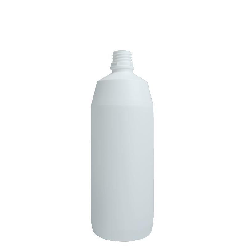 Flacone cilindrico 1 lt HDPE, collo 28TE, linea ANTIGUA