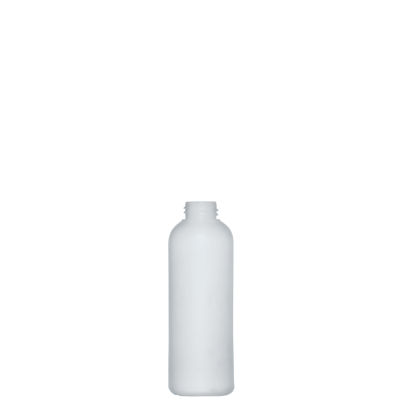 Flacone circolare 160 ml HDPE/PP, collo 24/400, linea ISCHIA