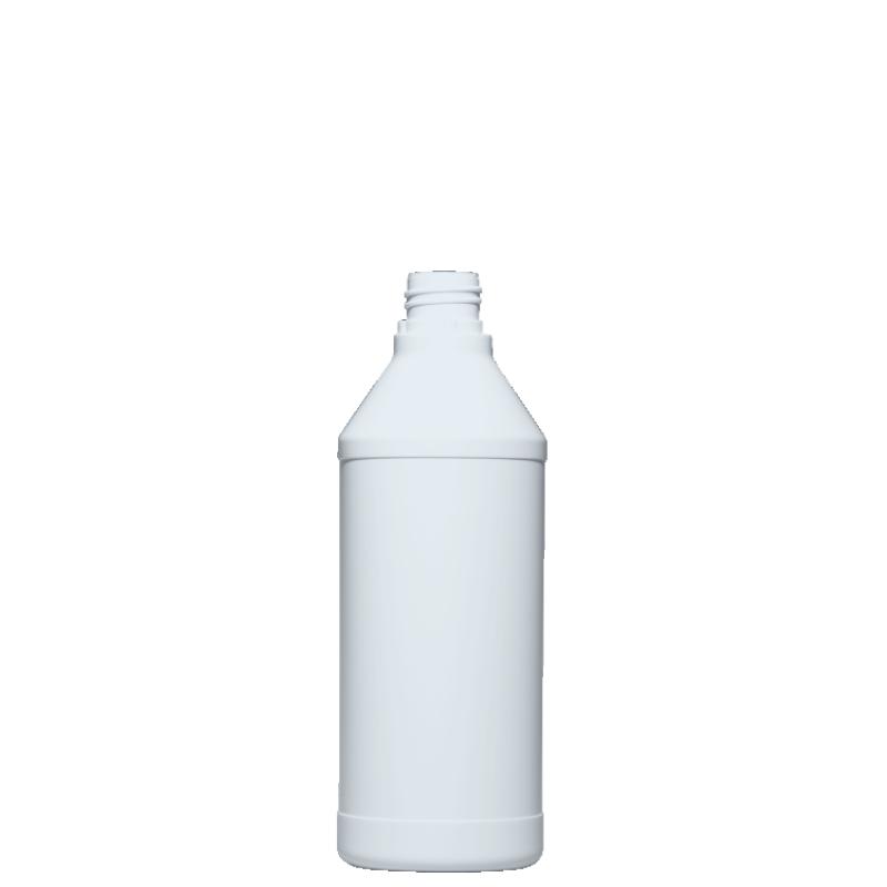 Flacone cilindrico 650 ml HDPE, collo 28TE, linea ANTIGUA