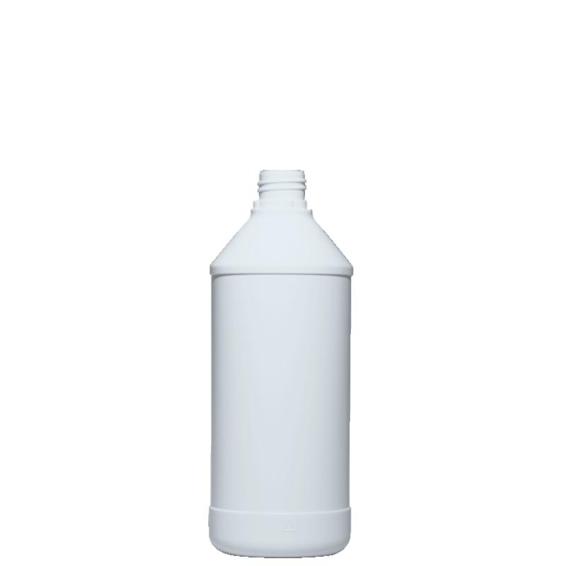 Flacone cilindrico 750 ml HDPE, collo 28TE, linea ANTIGUA