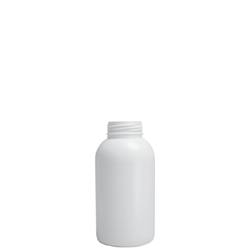Cylindrical bottle 250 ml COEX-PP, neck 38mm, style MILOS