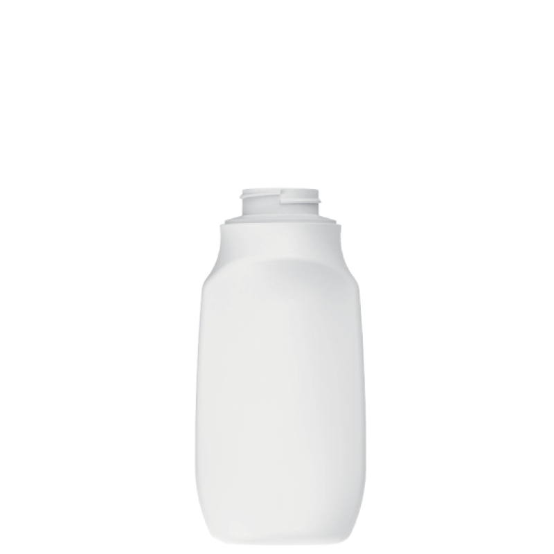 Flacone sagomato 400 ml COEX-PP, collo 38 mm, linea MILOS