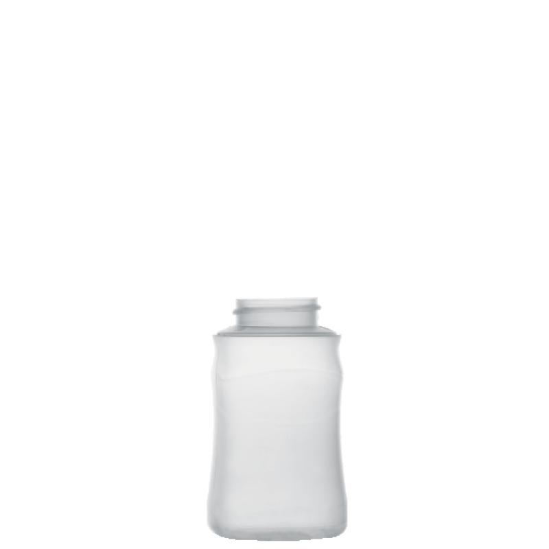 Flacone sagomato 190 ml COEX-PP, collo 38 mm, linea MILOS