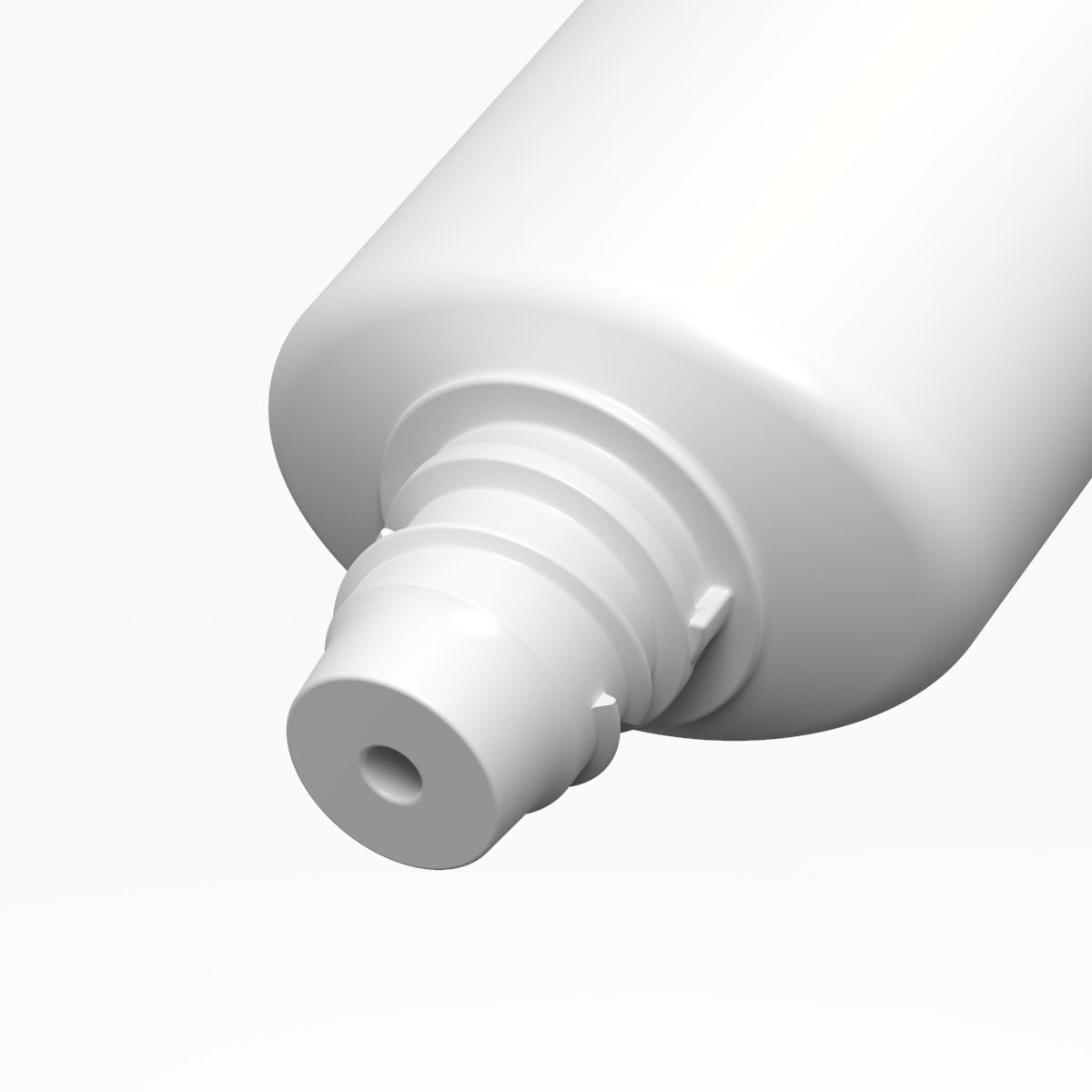 Tubo ovale ø30 PE, bocchello TR14