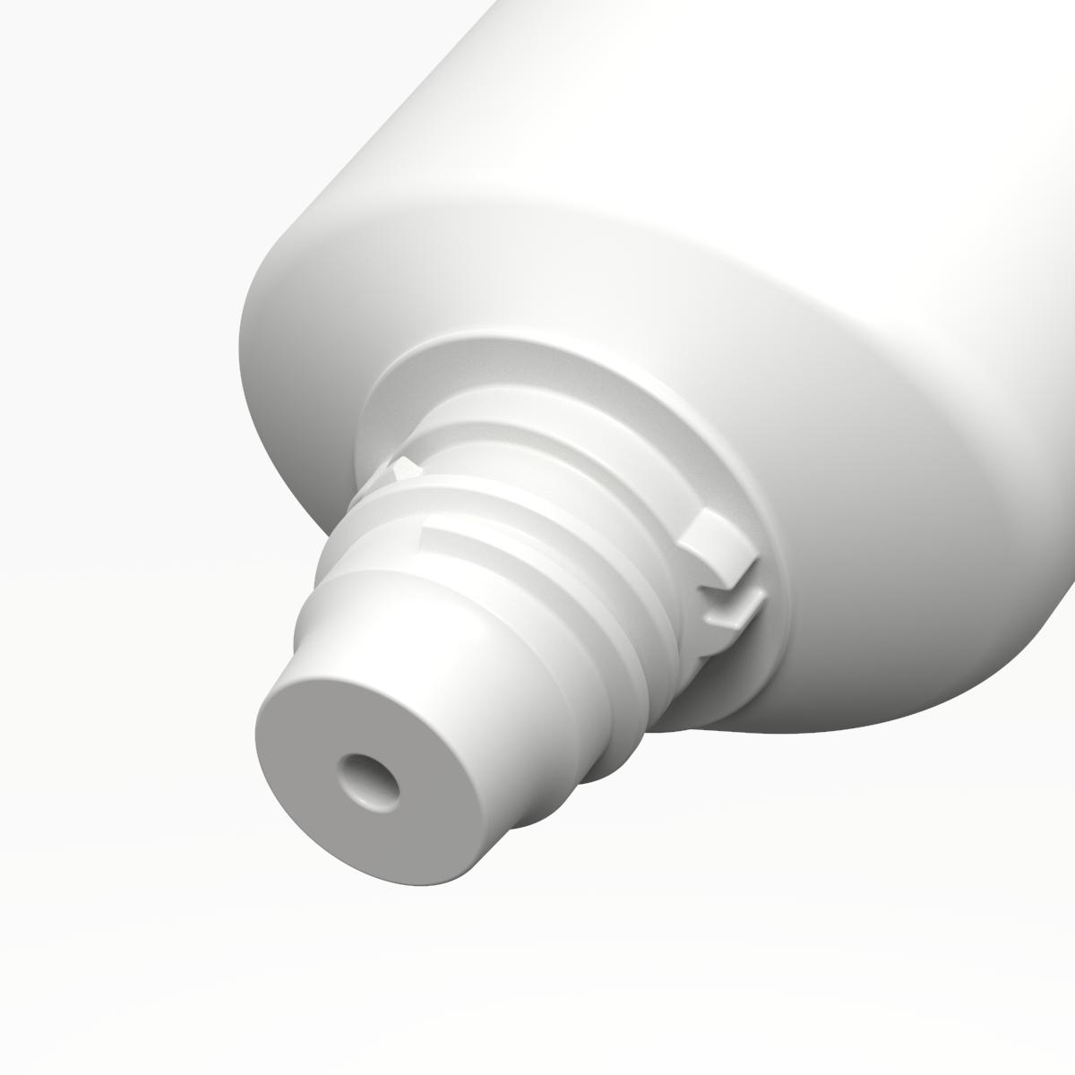 Tubo ovale ø40 PE, bocchello TR16