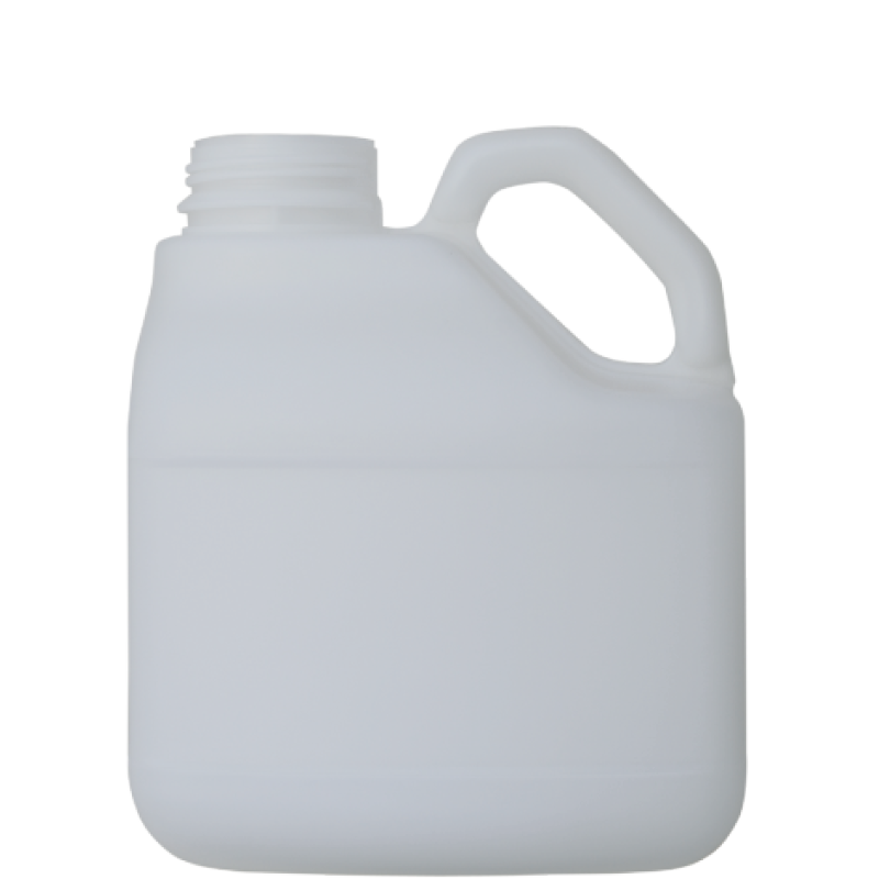 Pinched handle jerrycan 3 lt HDPE, neck DIN63, style MADAGASCAR (Real)