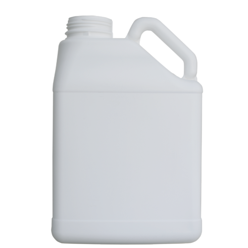 Pinched handle jerrycan 5 lt HDPE, neck DIN63, style MADAGASCAR