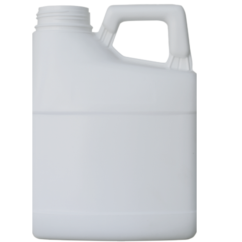 Pinched handle jerrycan 3 lt HDPE/COEX, neck DIN63, style MADAGASCAR