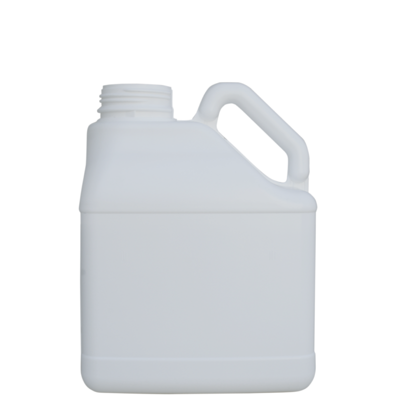 Pinched handle jerrycan 3,5 lt HDPE/COEX, neck DIN63, style MADAGASCAR