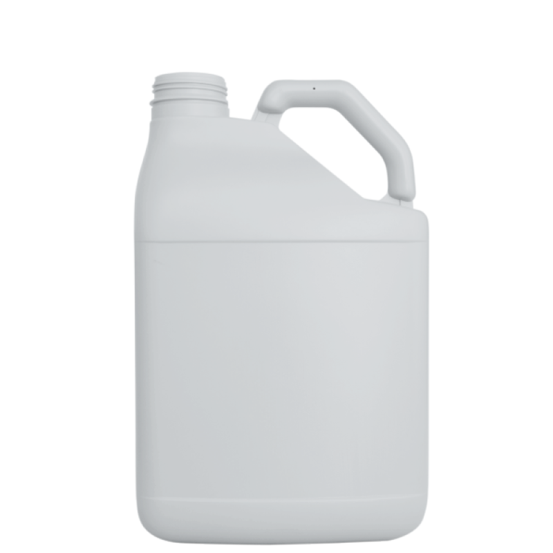 Pinched handle jerrycan 10 lt HDPE, neck DIN63, style MADAGASCAR