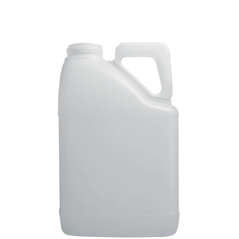 Pinched handle jerrycan 5 lt HDPE/COEX, neck DIN63, style MADAGASCAR