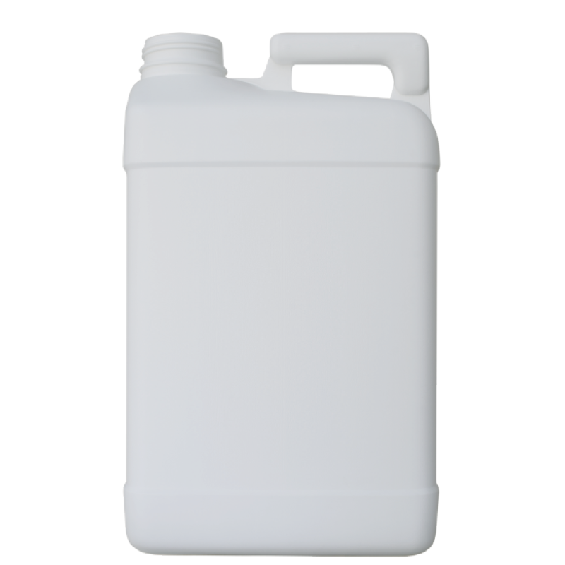 Pinched handle jerrycan 10 lt HDPE/COEX, neck DIN63, style MADAGASCAR