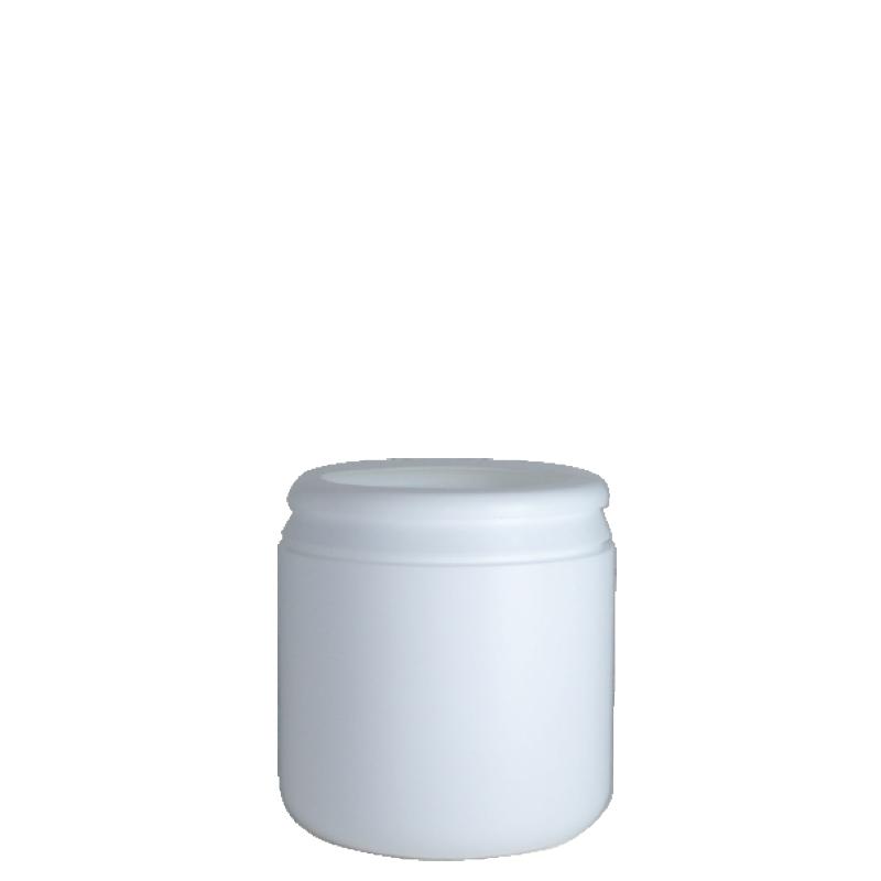 Contenitore cilindrico 440 ml HDPE, collo snap-on, linea AMIRANTES