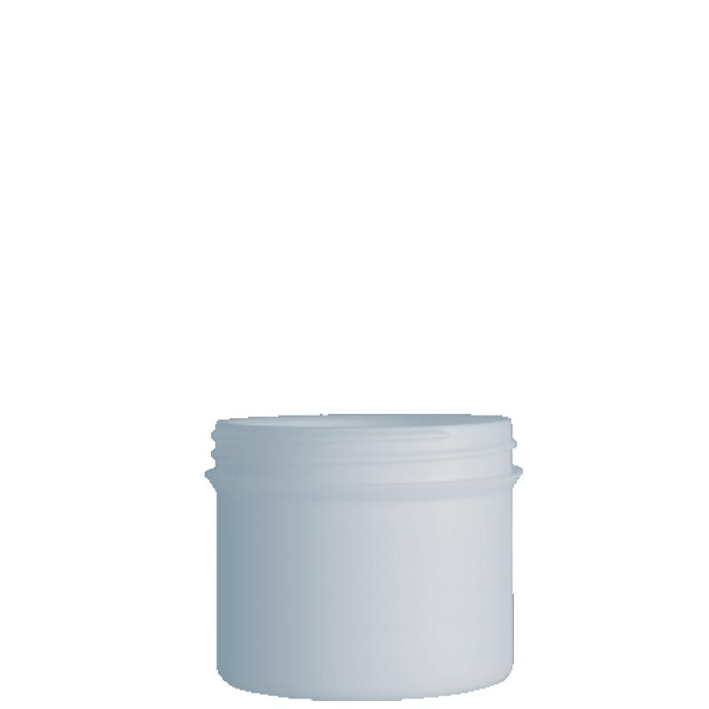 Vaso circolare 500 ml HDPE/PP, collo 100 mm, linea ELBA