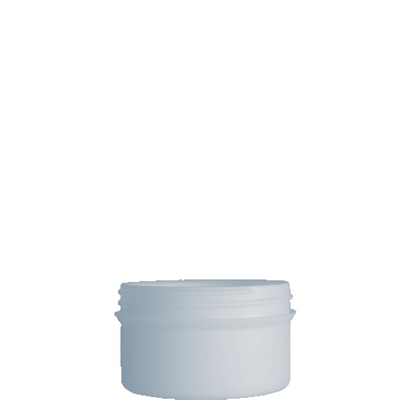 Vaso circolare 250 ml HDPE/PP, collo 100 mm, linea ELBA
