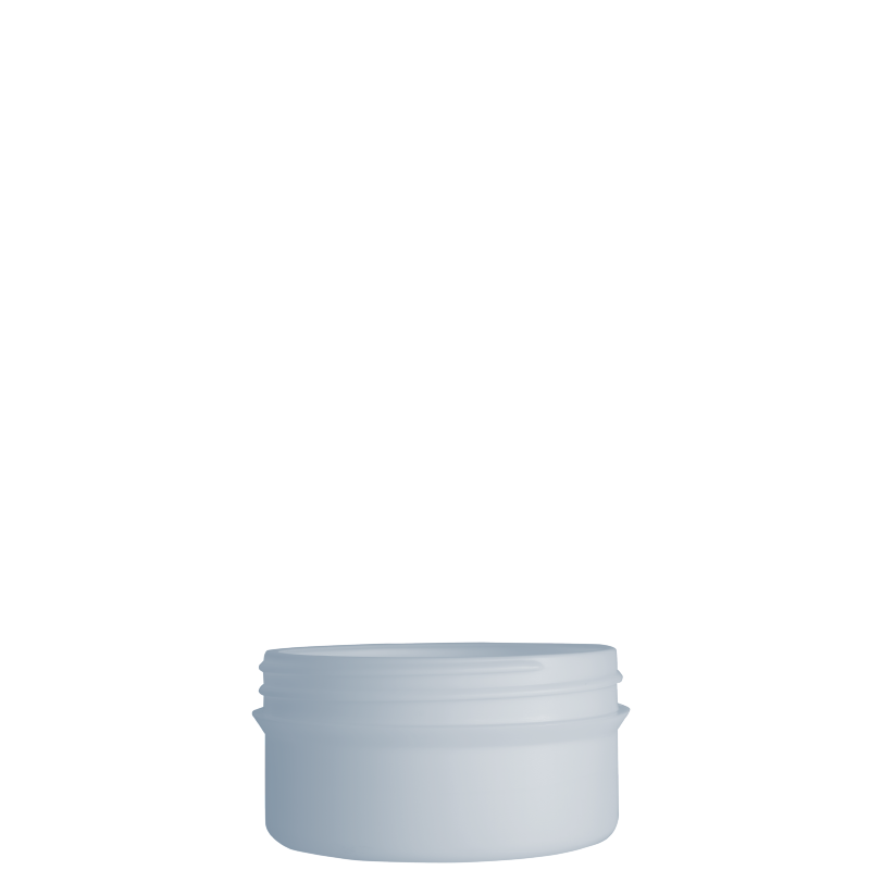 Vaso circolare 150ml HDPE/PP,  collo 100 mm, linea ELBA