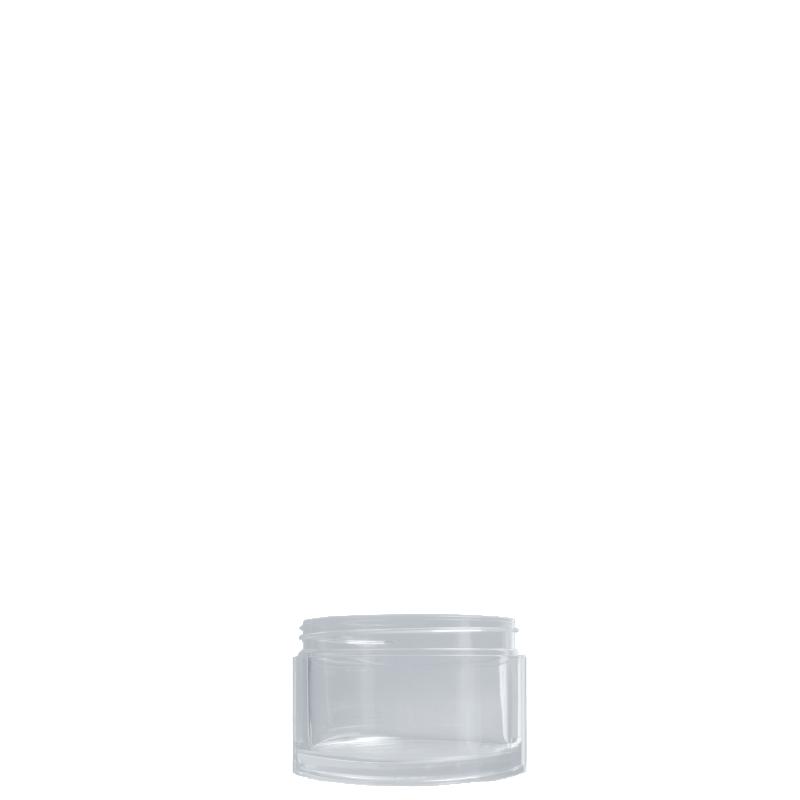 Vaso circolare 50 ml PP, collo 53/400, linea NEW YORK
