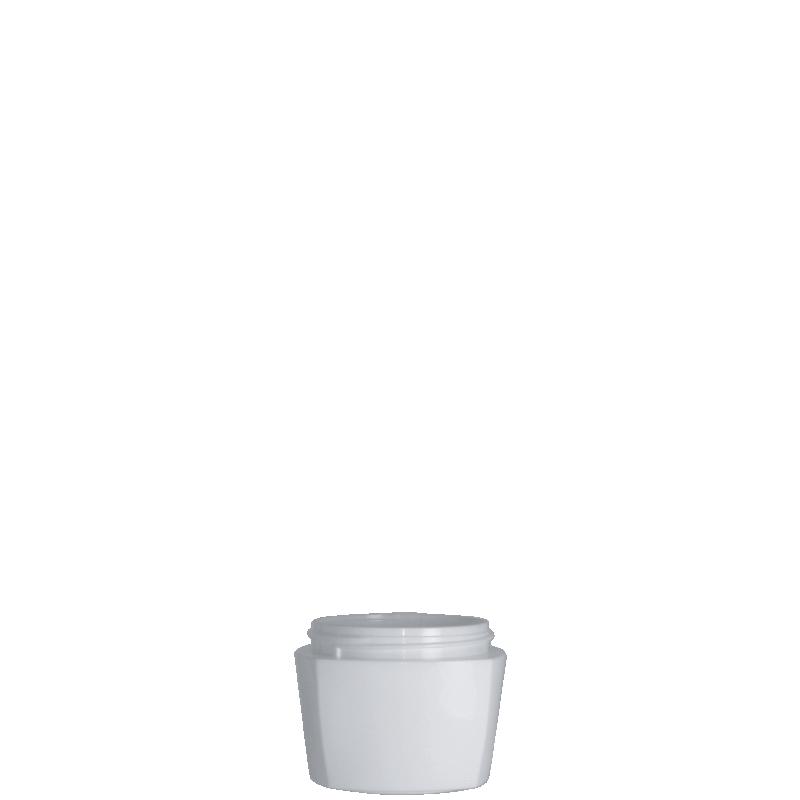 Vaso quadrato 50 ml PP, collo special, linea DAMASCO