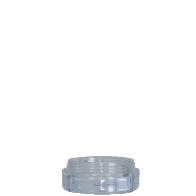 Vaso circolare 10ml PMMA, collo 43mm, linea PARIGI