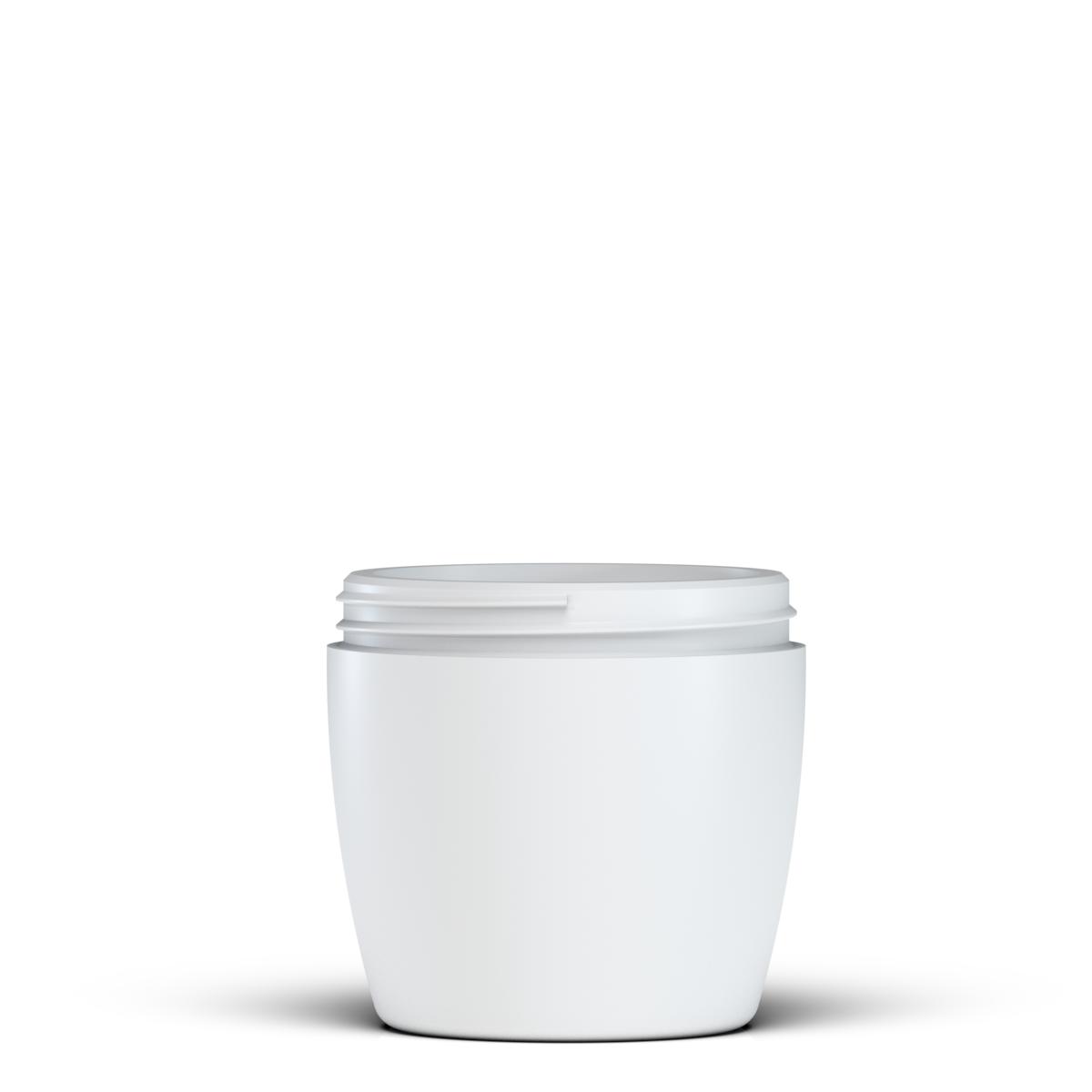 Vaso tronco-conico 500 ml HDPE, collo 100 ml, linea MALTA